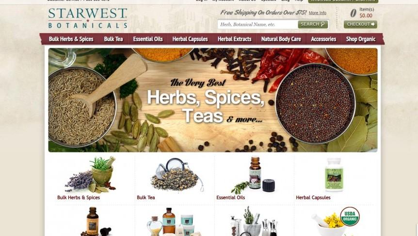 Starwest Botanicals - Aromatherapy Affiliate Programs