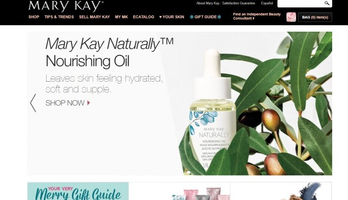 Mary Kay website