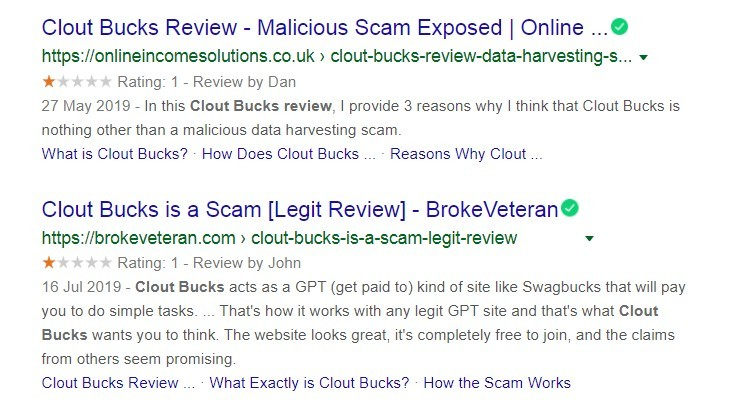 Clout Bucks reviews - Is Clout Bucks a scam?