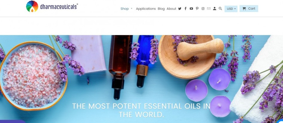 Dharmaceuticals Essential Oils Affiliate Program