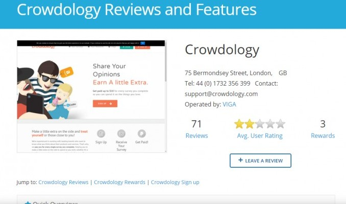 Survey police crowdology reviews