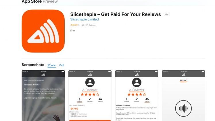 slicethepie ios app store