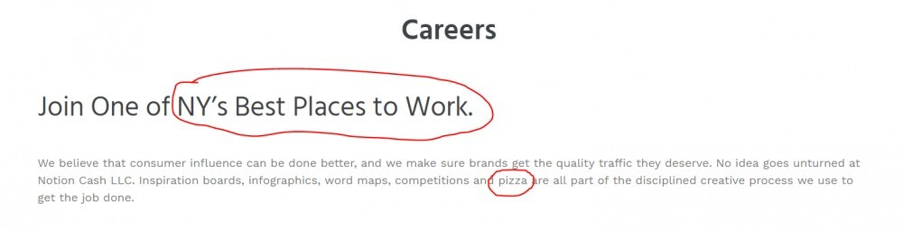 Notion Cash careers page