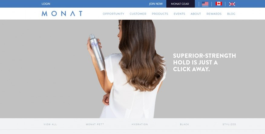 Monat Global Home Page