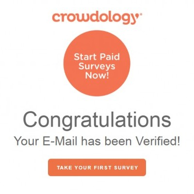 Crowdology verified email