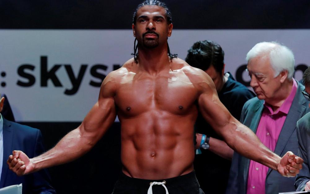 David Haye Vegan Boxer