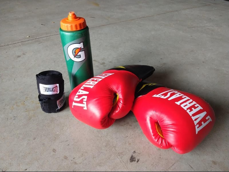 boxing gear and equipment