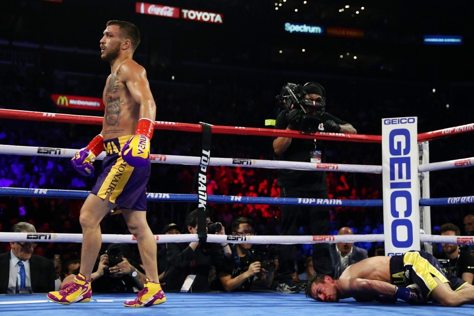 Loma wipes out Crolla