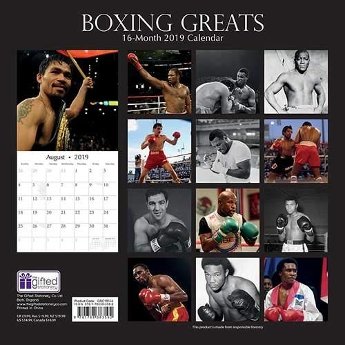 Boxing Calendar