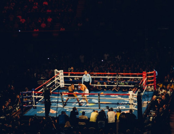 Tickets to a boxing fight