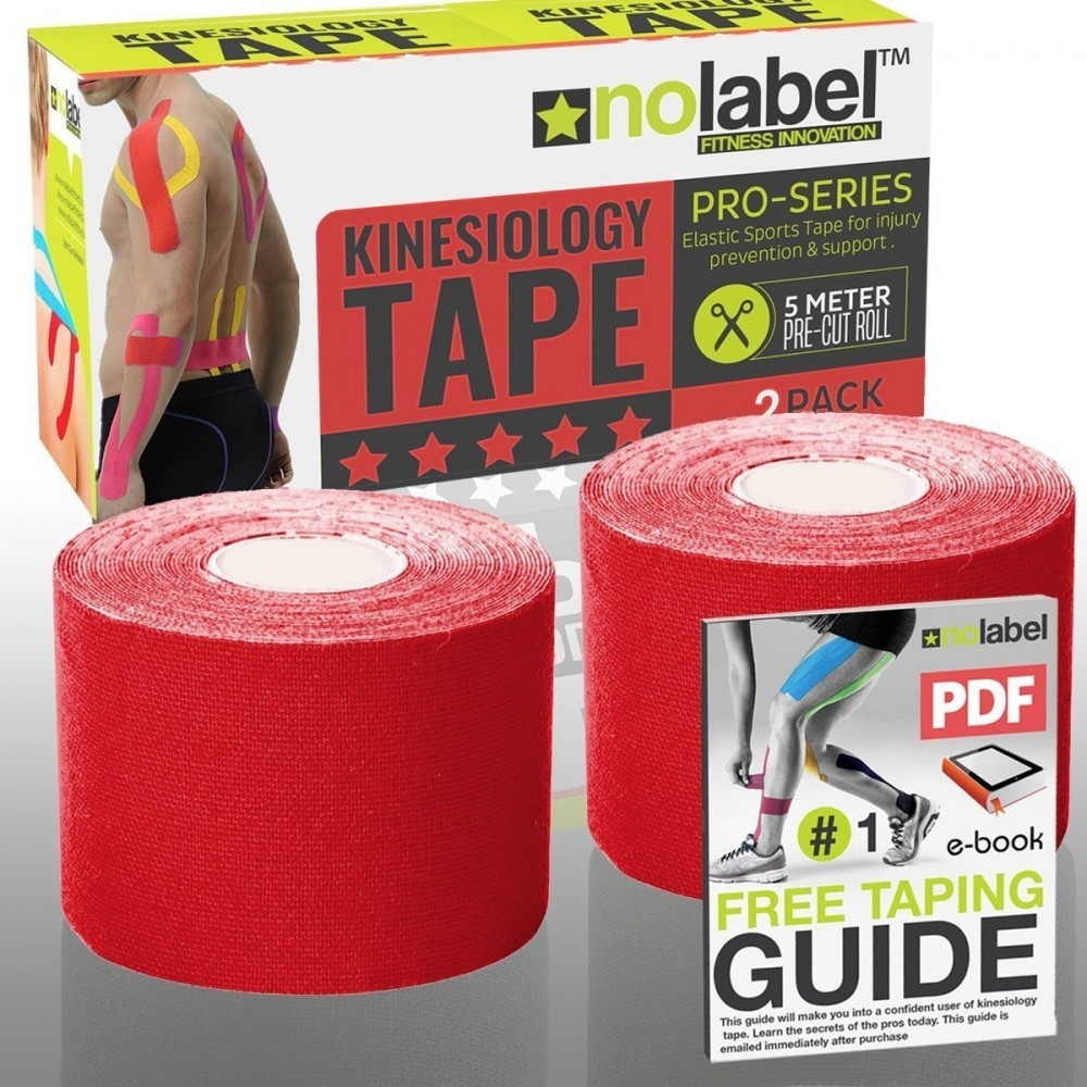 NO LABEL Pre Cut Kinesiology Tape
