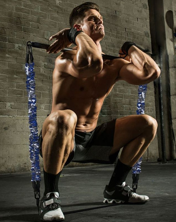 Leg training resistance bands