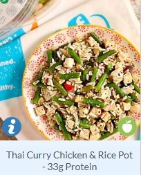 Thai Chicken curry rice pot