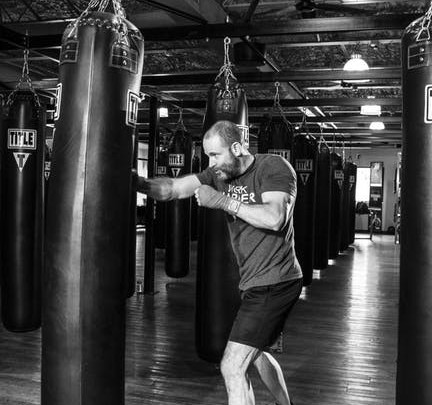 heavy bag core workout