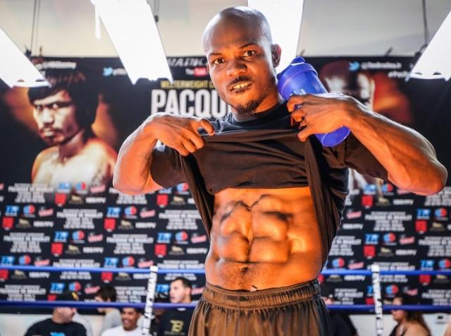 Timothy Bradley Vegan Boxer