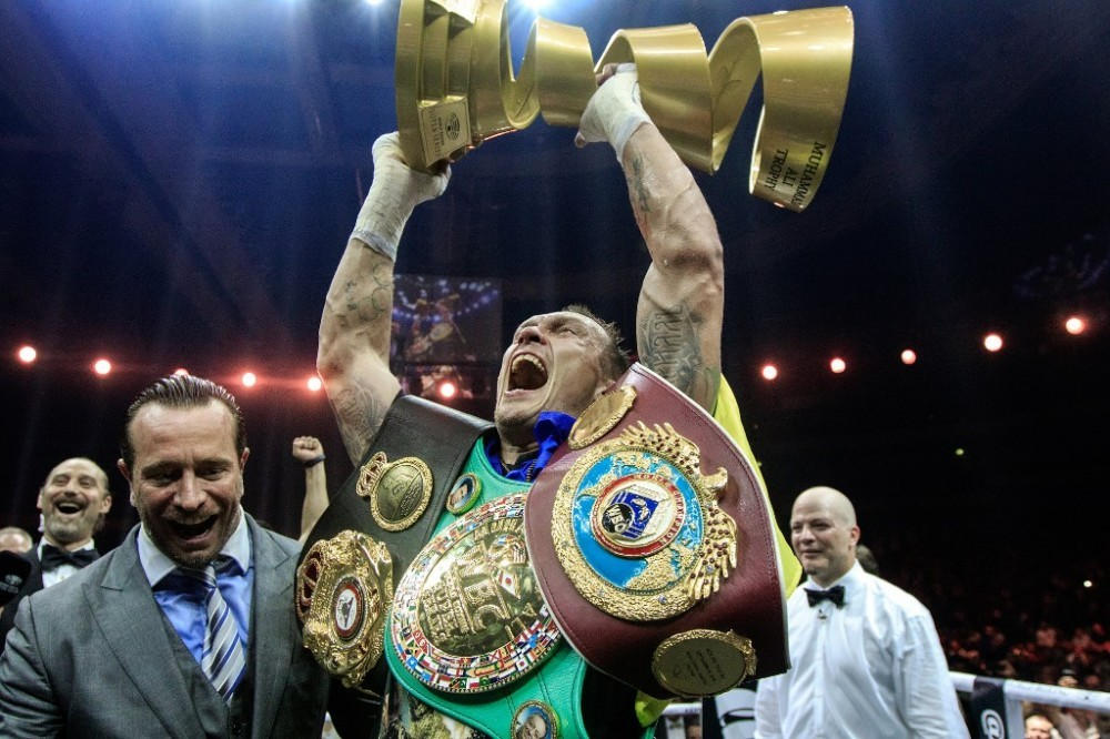 Undisputed Cruiserweight Champion Usyk