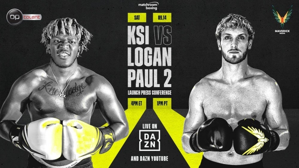 KSI vs Logan Paul 2: Fight Preview