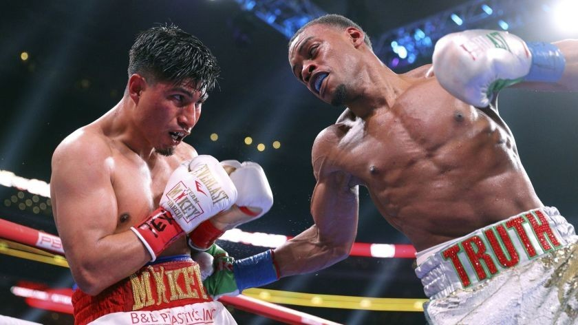 Errol Spence Body Punching
