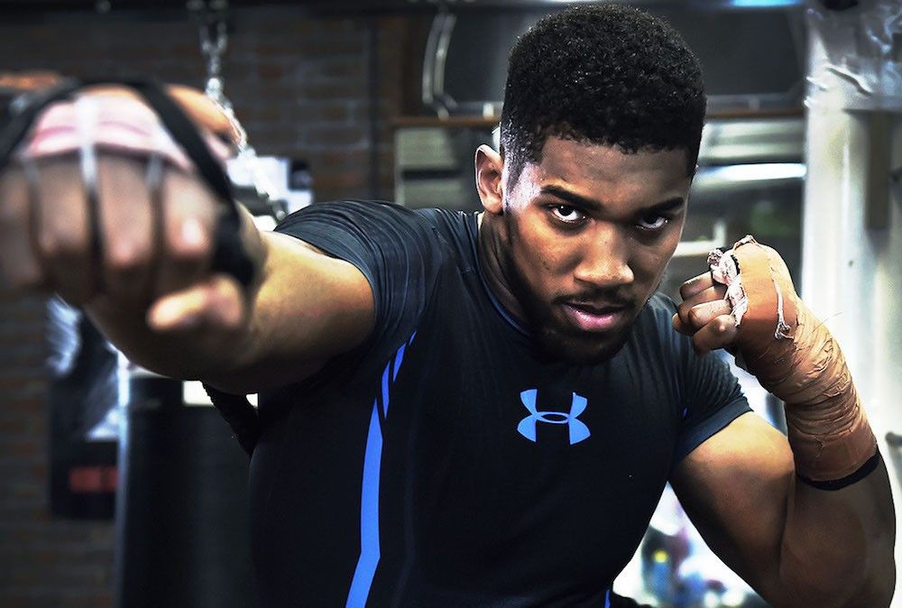 Boxing Apparel | Anthony Joshua | under armour