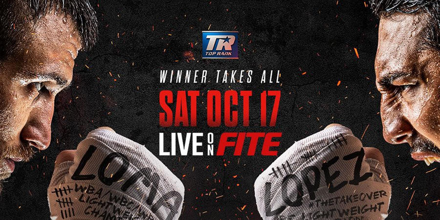 Boxing on FITE tv