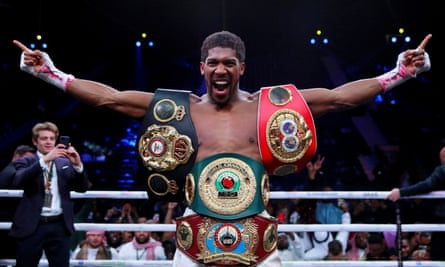 Joshua 2x world heavyweight champion