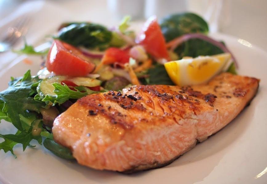 Rosemary Marinated Salmon