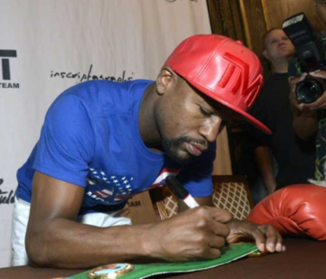 Boxing Memorabilia gifts | Floyd Mayweather