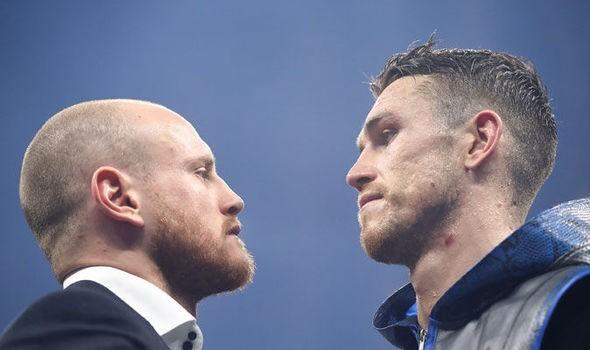 Groves vs Smith face to face