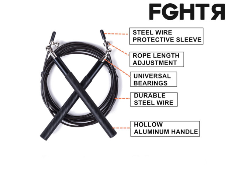 FGHTR Speed Rope