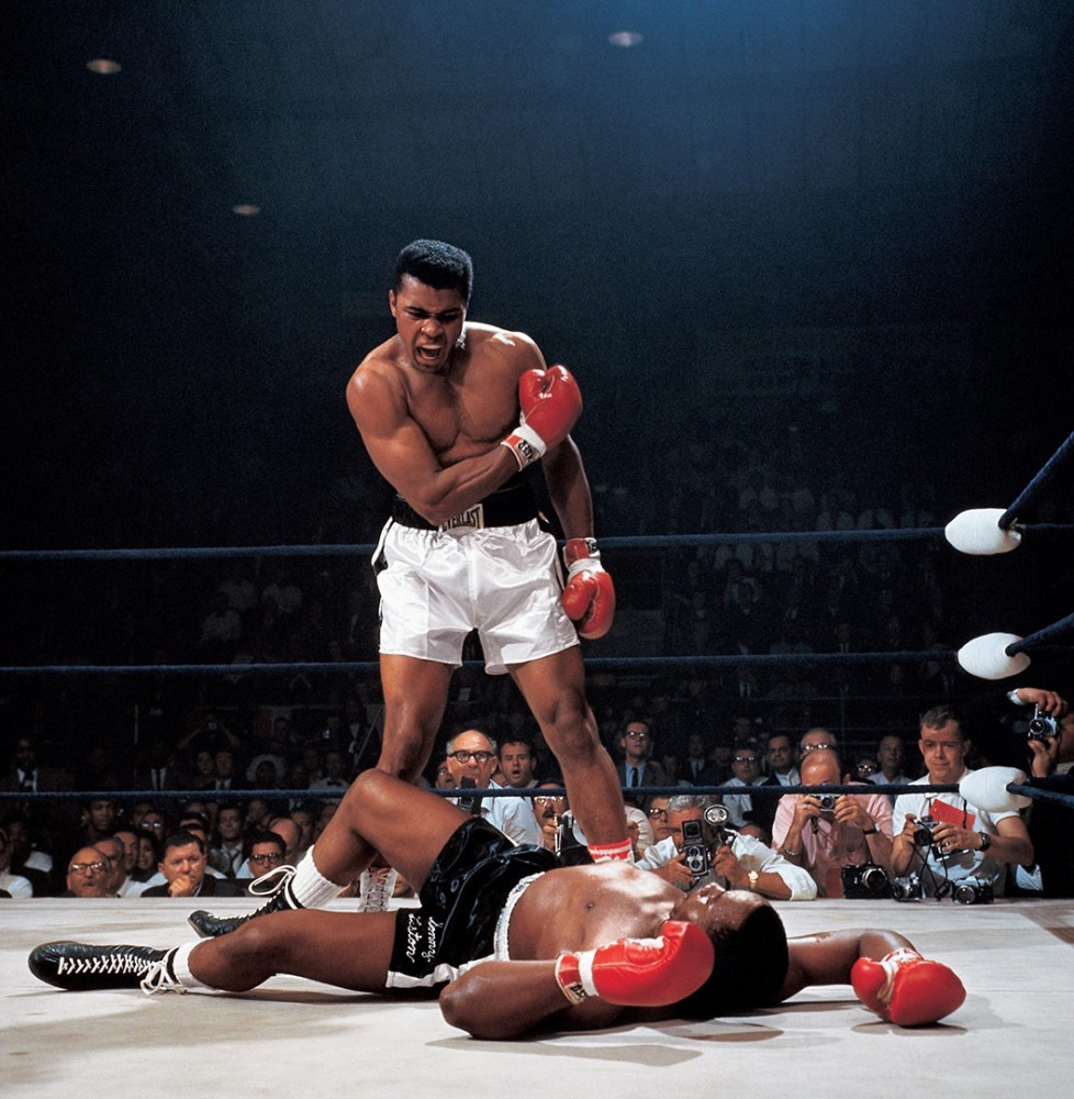 Muhammed Ali vs Sonny Liston Memorabilia