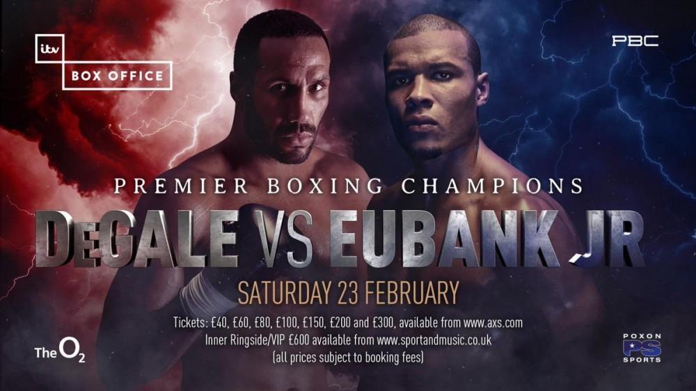 DeGale vs Eubank Jr