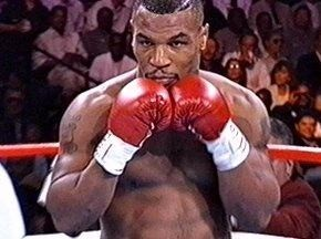 Mike Tyson peek-a-boo style