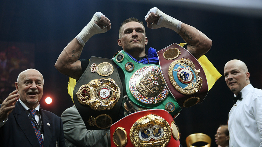 Usyk Undisputed Champ