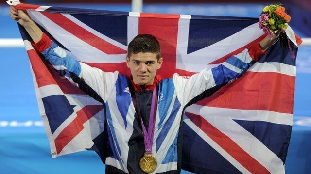 Campbell Winning gold