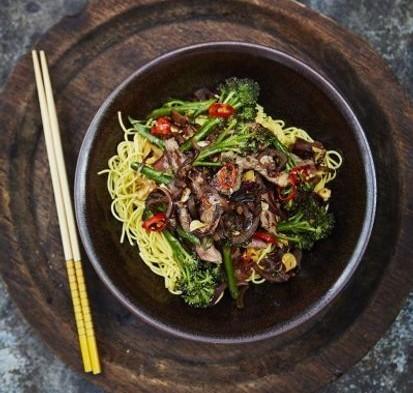 Beef & Broccoli Stir fry (Jamie Oliver)