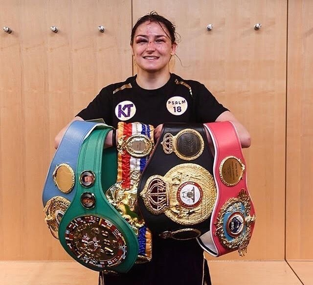 unified lightweight Champion Katie Taylor