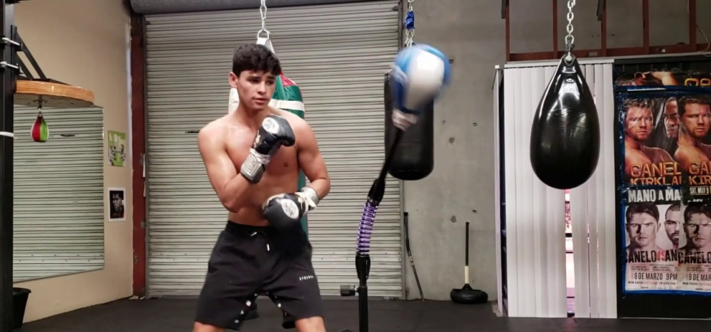 Ryan Garcia cobra bag