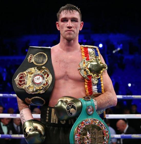 Callum Smith Corner Boxing