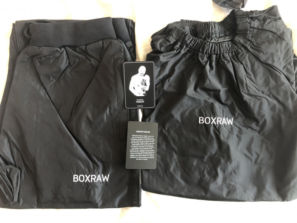 Hagler Sauna Suit Black - Review