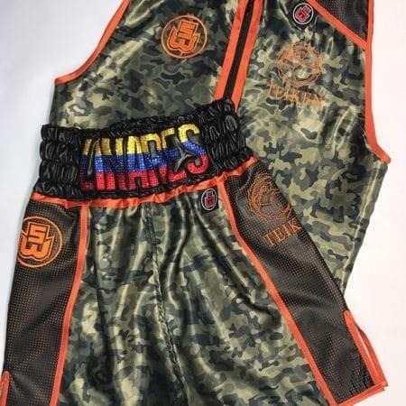 Multiple World Champion Jorge Linares' Suzi Wong boxing shorts