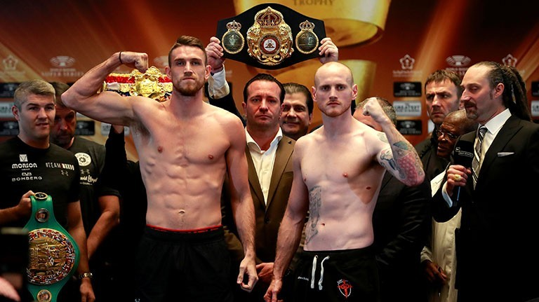Groves vs Smith weigh in