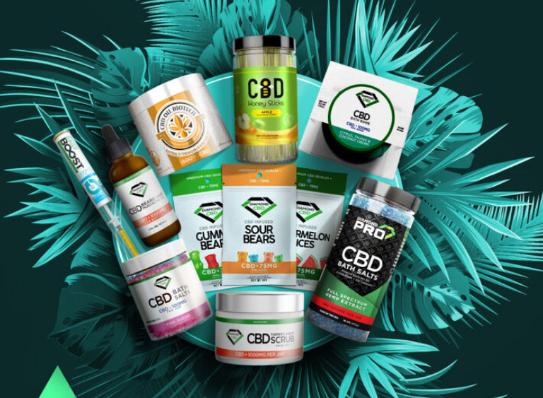 Diamond CBD oil products