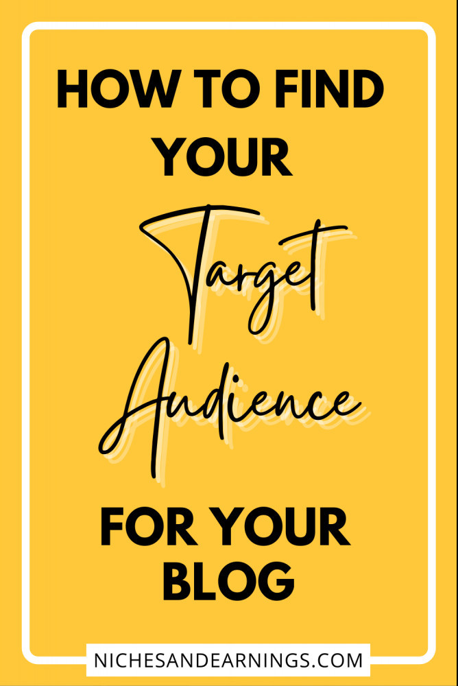 HOW TO FIND BLOG TARGET AUDIENCE