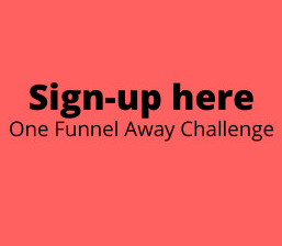 one funnel away challenge sign-up