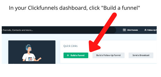 How to create a funnel with Clickfunnels