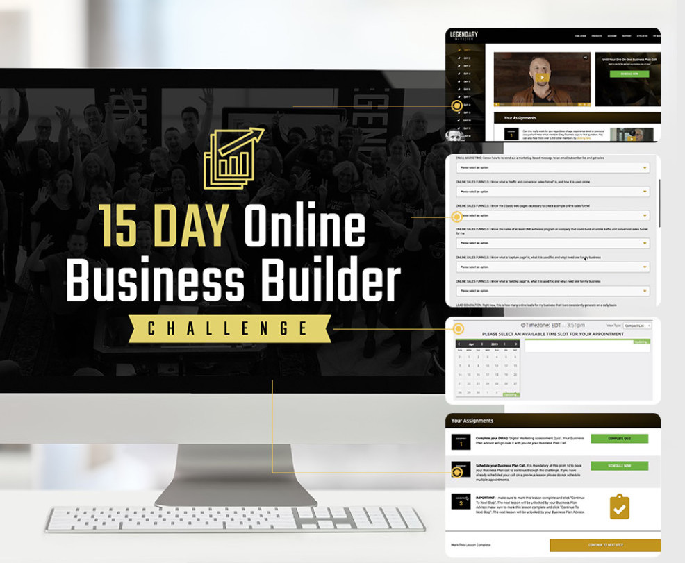 15 day business challenge