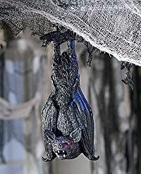 Light up swining bat animatronic