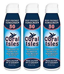 COral Isles Spray Sunscreen