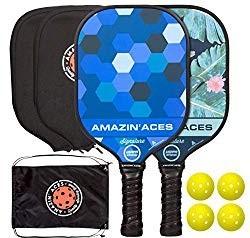 Amazin' Aces Pickleball paddle set