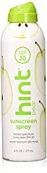 Hint SPF 30 Spray Sunscreen